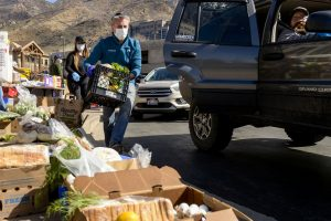 Snowbird, closed because of coronavirus, gives its employees 10,000 pounds of food