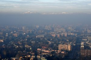Coronavirus found on air pollution particles prompting fears bug can travel over long distances