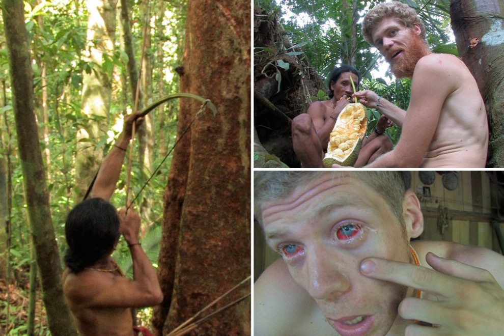 Engineer, 24, quit life in Norway to live with Indonesian tribe surviving on monkeys and bats for food