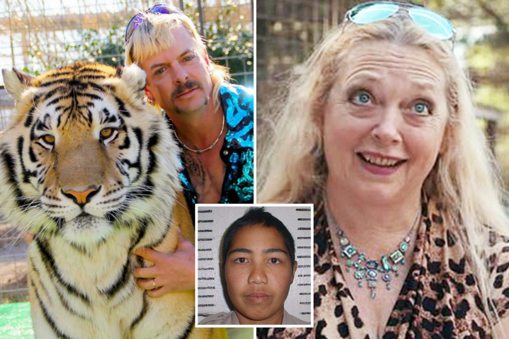 Joe Exotic 'didn't have the b**ls' to kill Carole Baskin himself, says big cat farm manager who lost arm in tiger attack
