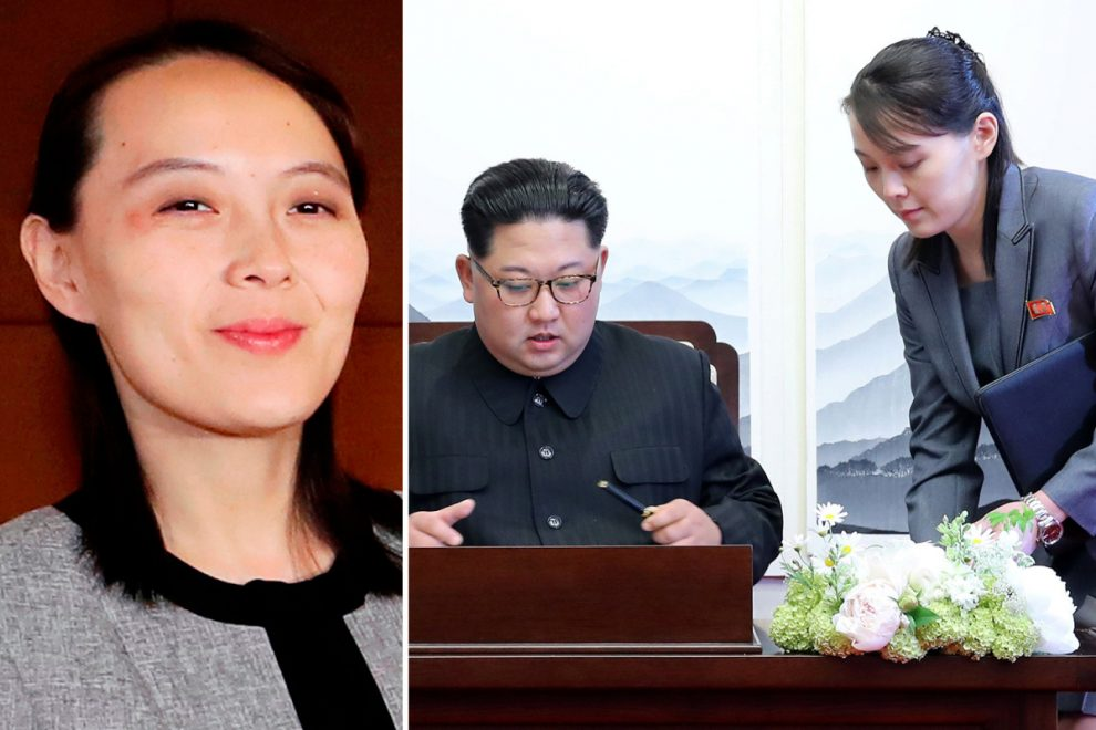 Kim Jong-un's sister 'fast becoming his alter ego' as she becomes ever more powerful over fears for dictator's health