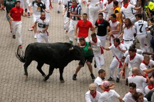 Pamplona Running Of The Bulls festival axed because of coronavirus as Spain lockdown goes on