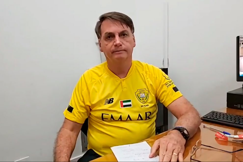 Brazil's President Bolsonaro claims WHO 'promotes masturbation to four-year-olds' which is why he ignores their advice
