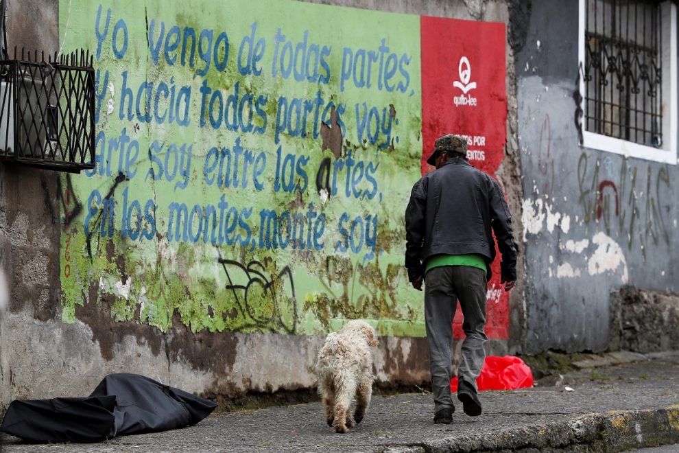 Covid-19 bodies lie in streets of Ecuadorian city as death toll in Latin America passes 15,000 with peak 'yet to come'