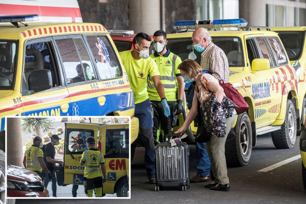 Flight to Lanzarote with 140 passengers is quarantined on arrival after one gets positive coronavirus test result in air