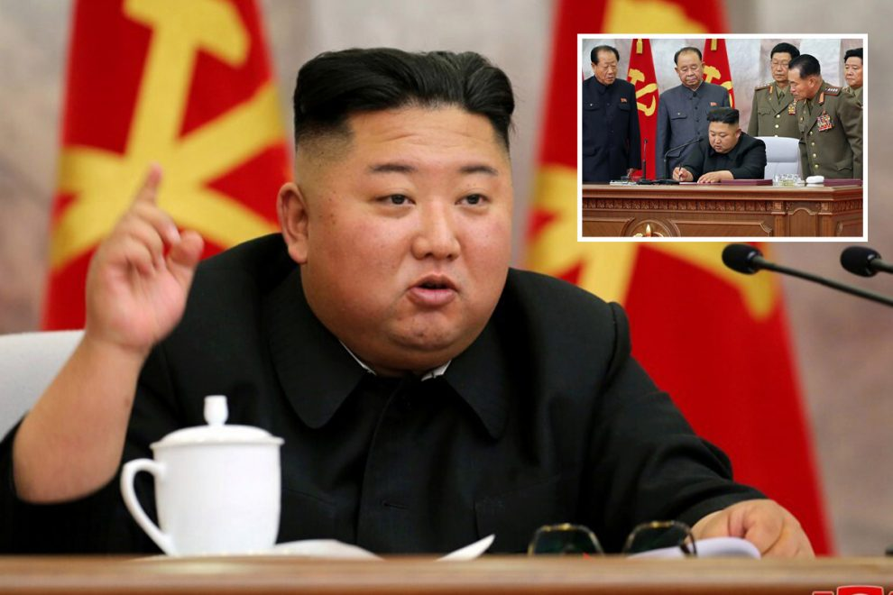 Kim Jong-un puts North Korea on nuclear 'high alert' as he's pictured again after vanishing for ANOTHER three weeks