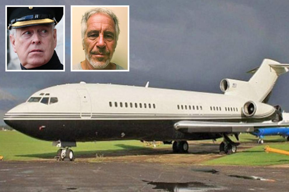 Prince Andrew's paedo pal Jeffrey Epstein 'flew girls from UK on private jet to be abused in US with help of Brit woman'