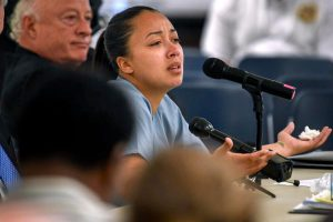 When was Cyntoia Brown released from prison and how did Kim Kardashian help her?