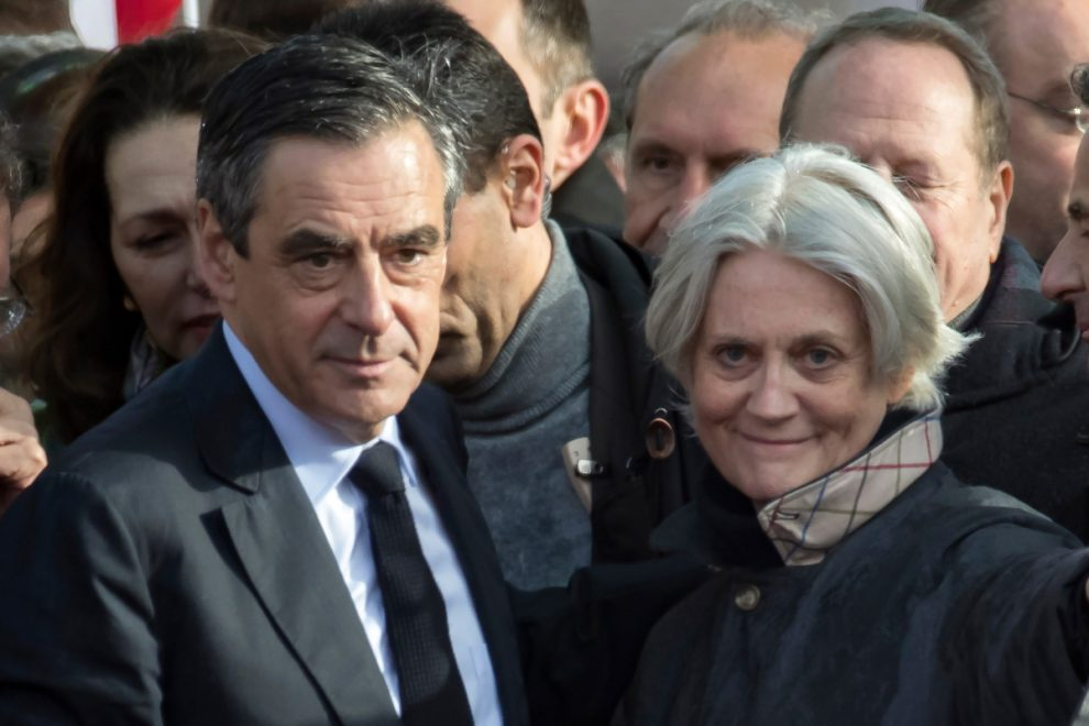 Former French prime minister Francois Fillon jailed for using public cash to pay Brit wife £1m for work she never did