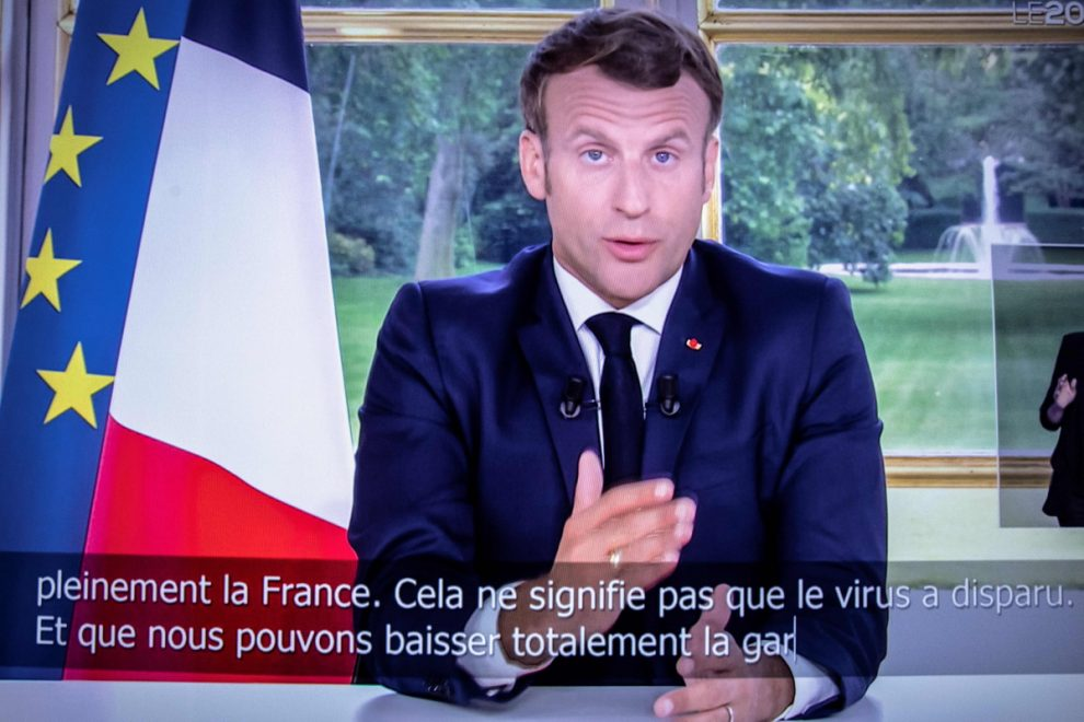France reopens its borders after President Emmanuel Macron announces countries 'first victory' against Coronavirus