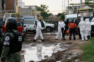 At least 24 dead and seven others injured after gunmen storm a drug rehabilitation center in Mexico