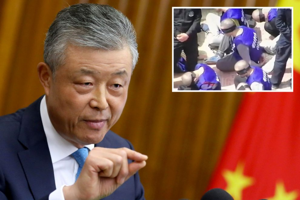 Chinese ambassador to UK claims Uighurs aren't in concentration camps but being retrained as artists and estate agents