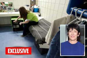 Ghislaine Maxwell on suicide watch after swapping life of luxury for cramped jail cell