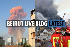 Beirut explosion news LIVE: Brits caught up in Lebanon blast as 100 killed in ammonium nitrate disaster