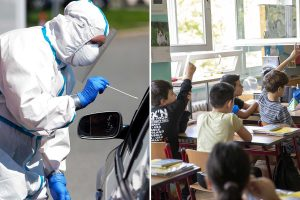 Germany warns of 'alarming' rise in infections just as millions of Berlin kids return to the classroom