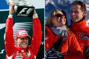 Michael Schumacher is in a 'vegetative state' and not responding to his family, leading neurosurgeon claims