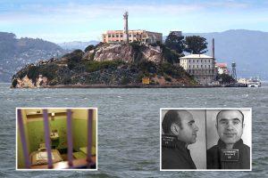 Inside 'escape-proof' Alcatraz prison 'haunted' by Al Capone where world's worst criminals festered in hell