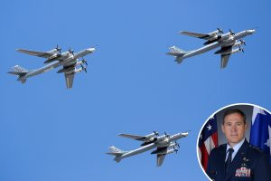 Russian military aircraft buzzing Alaska at the highest rate since the collapse of the Soviet Union, US commander says