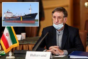 Iranian ambassador slams claims Gulf tanker was hijacked by 'Iranian commandos' as 'false rumours'